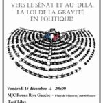 Vers le Sénat et au-delà, la loi de la gravité en politique !
