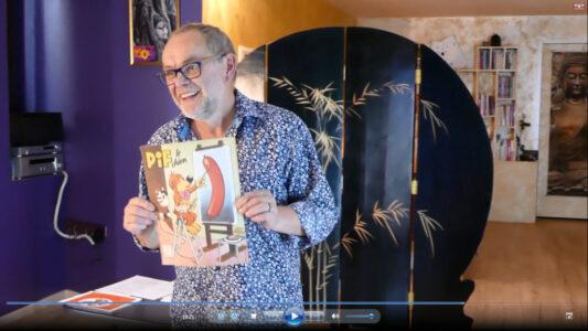 """Pierre GILIBERT - Conférence gesticulée """"Pif Pifou Mickey font de la propagande"""""""
