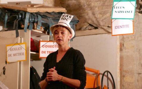 """Delphine PRATINI - Conférence gesticulée """"Le travail, c'est la santé ?"""""""