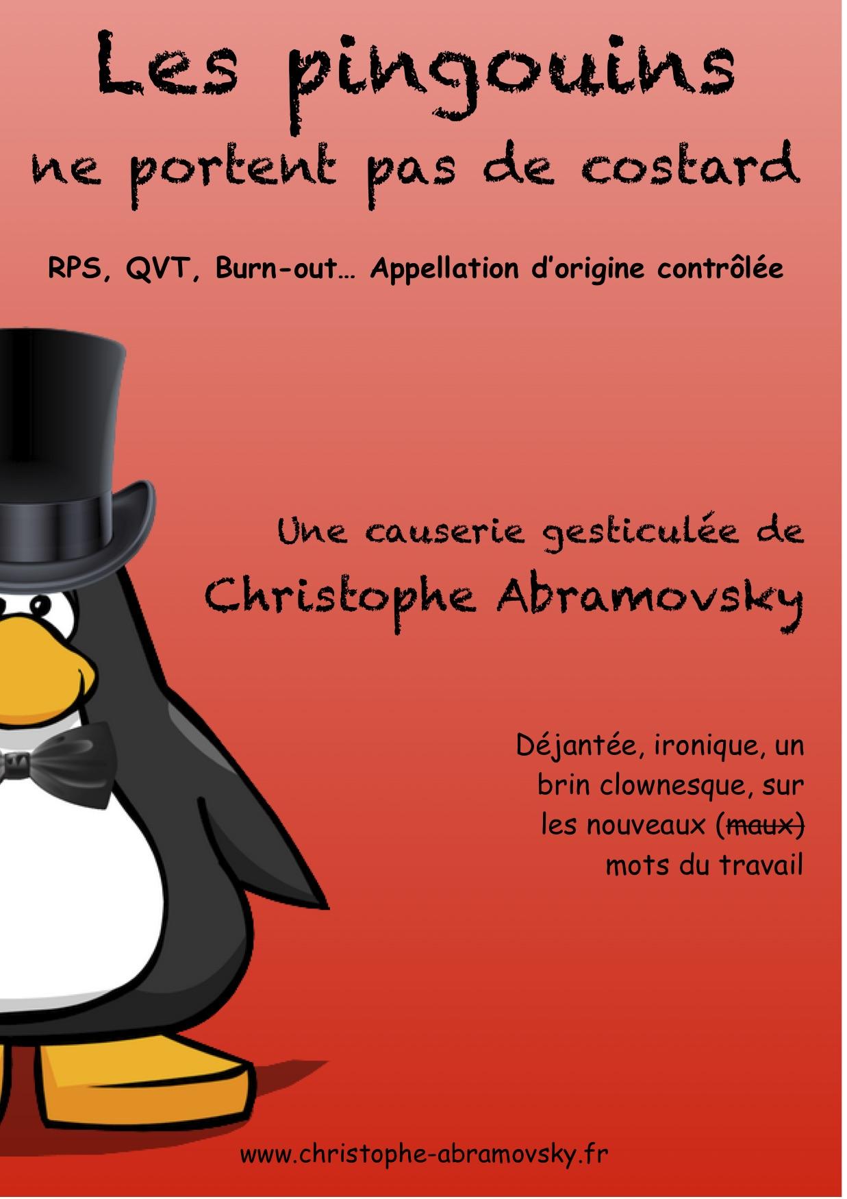 Les pingouins ne portent pas de costard