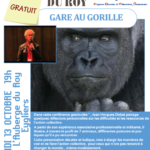 "Jean HORGUES-DEBAT - Conférence gesticulée ""Gare au gorille !"""