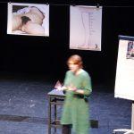 "Julie TESSUTO - Conférence gesticulée ""Ma petite robe rose et mes nibards"""