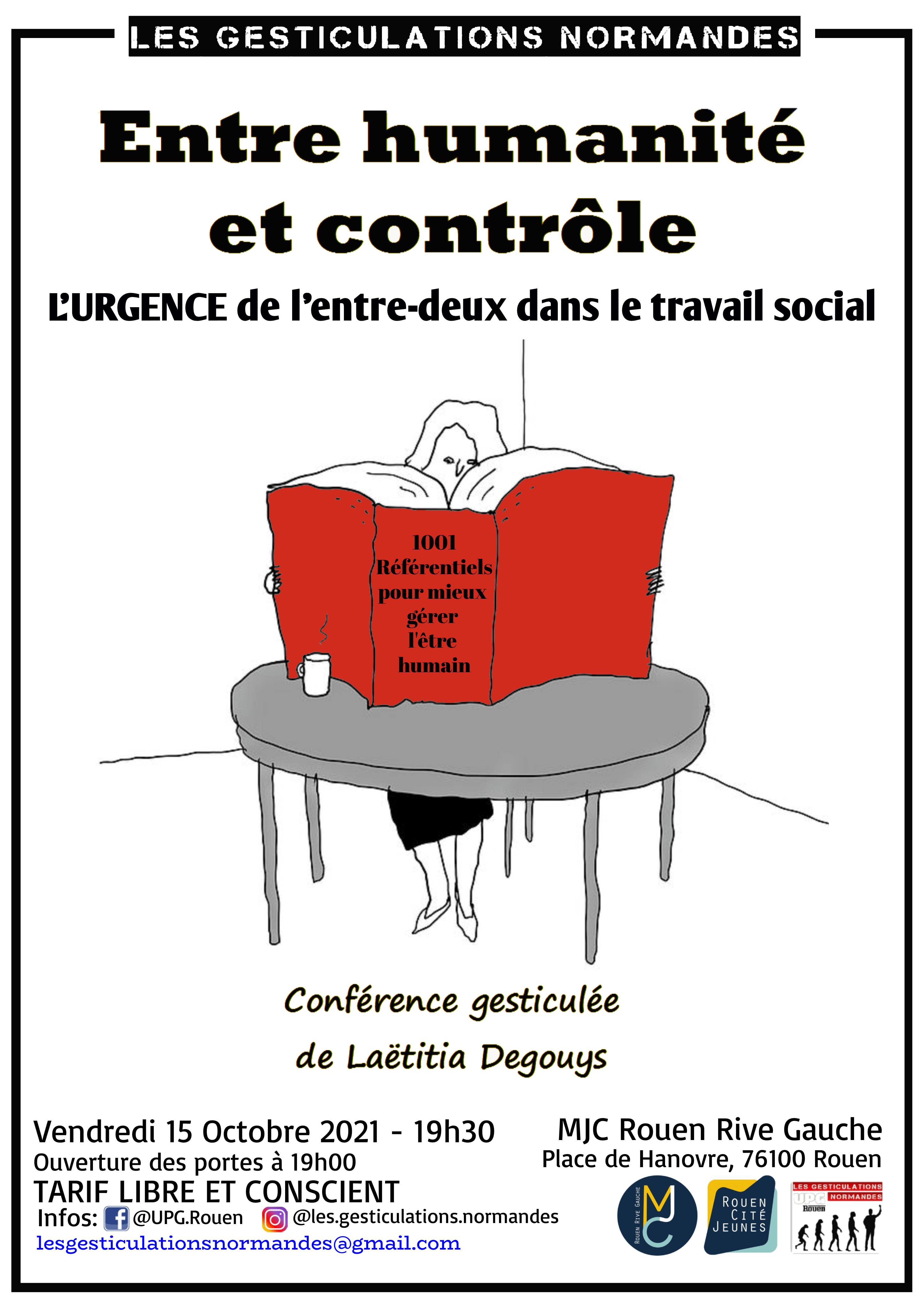 15 Oct 2021 – Laëtitia DEGOUYS – MJC Rouen, Rive Gauche