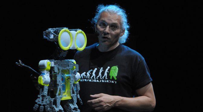 """Philippe Cazeneuve - Conférence gesticulée """"De quelle Humanité le robot est-il l'avenir ?"""""""
