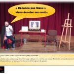 """Renaud NAPOLEON - Conférence gesticulée """"Déconne pas Manu"""""""