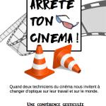 """Samuel HENRY & Axel JARDIN - Conférence gesticulée """"Arrête ton cinéma !"""""""